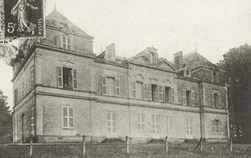 Le château du Haut-Gesvres agrandi par E. Doré-Graslin; il fut la demeure de 2 maires