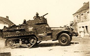 10 août 1944 les Américains libèrent Treillières