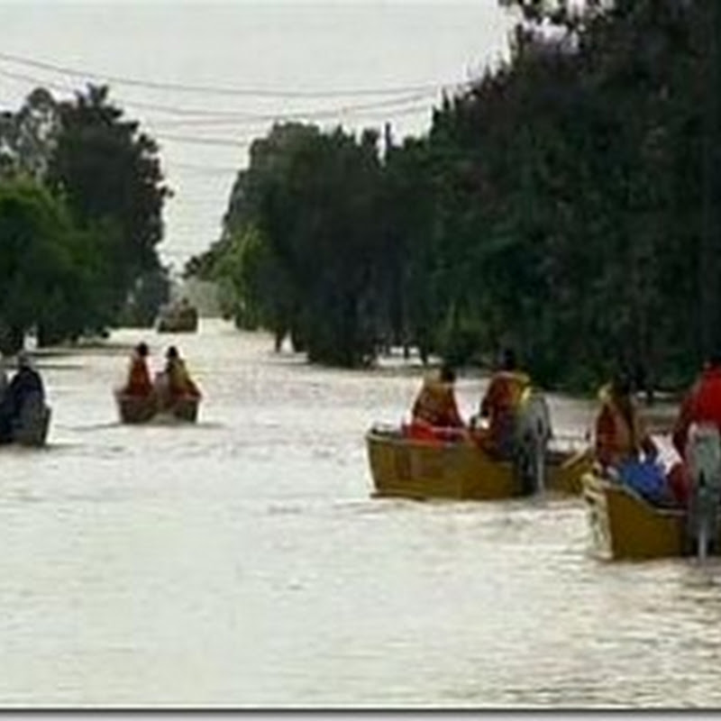 VIDEO: Banjir Seret Mobil di Australia