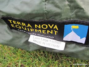 Terra Nova Laserlarge 1- Tunnelzelt für 2 Personen mit 1,8 kg