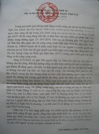 9, CQĐT Công an tỉnh Thanh Hoá đã Khởi tố vụ án hình sự