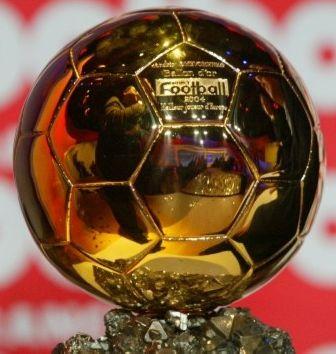 Il trofeo del Pallone d'Oro