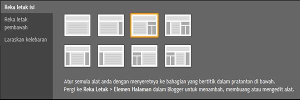 15 tema blog baharu di Draft.Blogger
