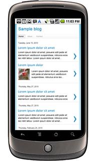Blogger memperkenalkan fungsi mesra telefon bimbit