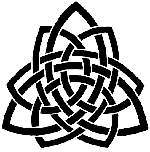Tags: triquetra knotwork tattoo