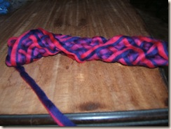 spinning and aunt del's quilt 024