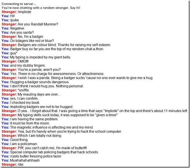 Omegle Conversations are Sometimes Strange and Funny [PICS]