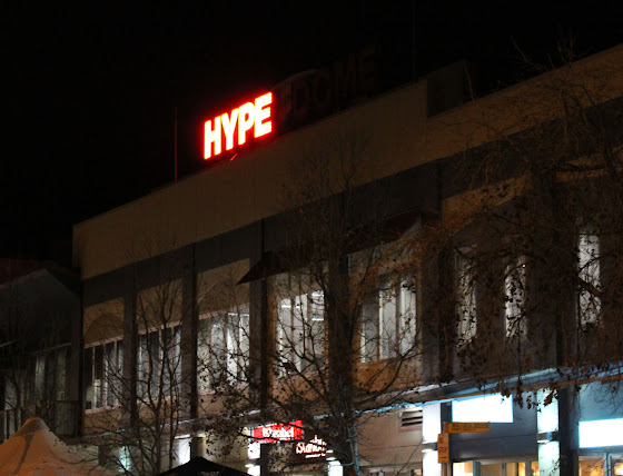 Hyperdome sign on the fritz
