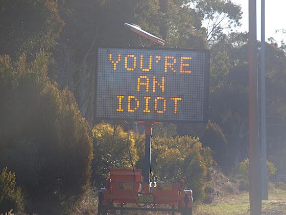 roadside signage