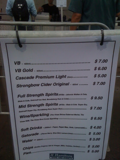 PMs XI beer prices