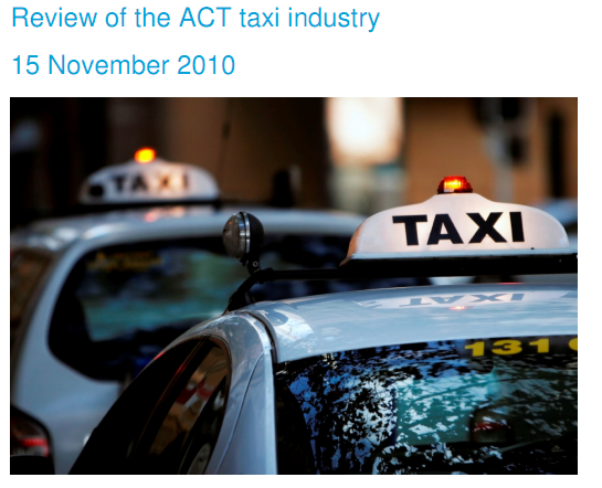 Long Awaited improvements to taxi services | The RiotACT