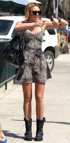 Miley Cyrus Shoulder Bags Leather Shoulder NBJWYavNjAHl