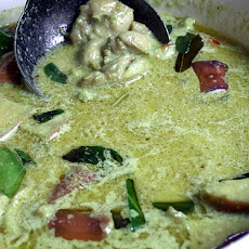 Easy Green Chicken Curry