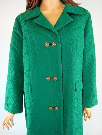 Vintage Green Coat3