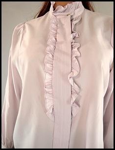 Lavender Ruffle Shirt 3