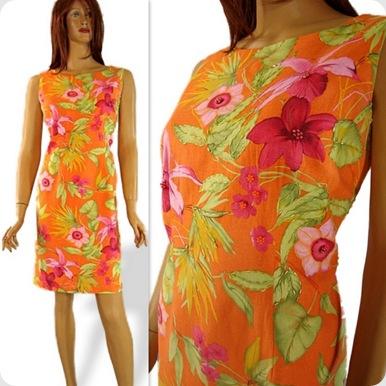 Miss Dorby Orange dress2