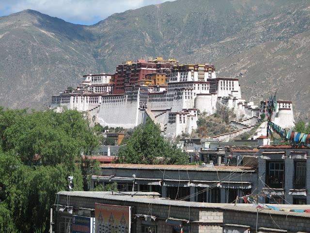 Palais du Potala - Lhassa - Tibet