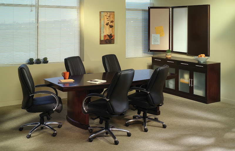 Sorrento Boat-Shape Conference Table