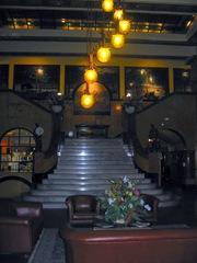 Gadsden Hotel .lobby staircase