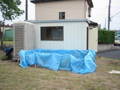 土壁の家 プレハブ