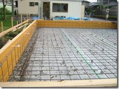 土壁の家 鉄筋2