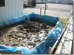 土壁の家 泥