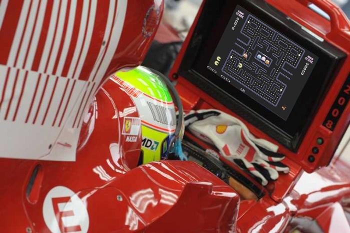 Фелипе Масса PacMan Ferrari