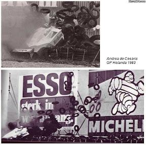 Андреа де Чезарис на Гран-при Нидерлаандов