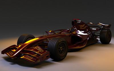 Болид Формулы-1 образца 2020 года