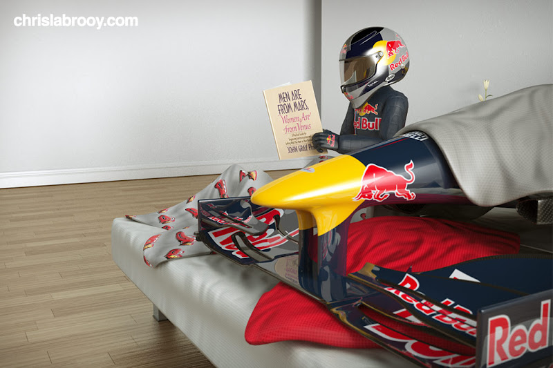 Red Bull Vettel lazy liz 2