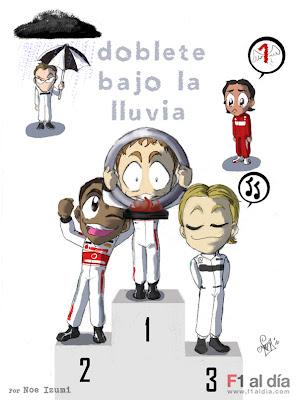 двойная победа МакЛарена на Гран-при Китая 2010