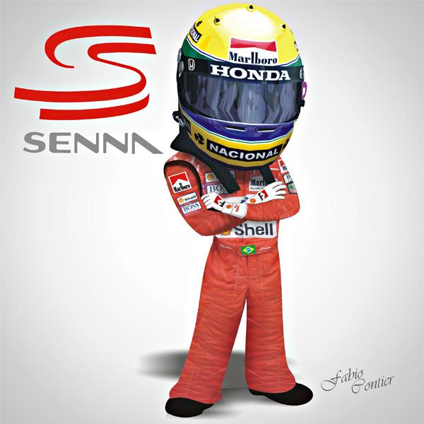 fsone 2008 Айртон Сенна McLaren