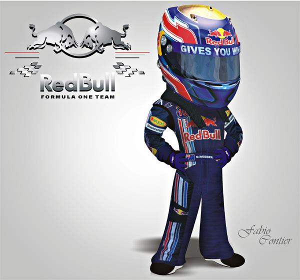 fsone 2008 Марк Уэббер Red Bull