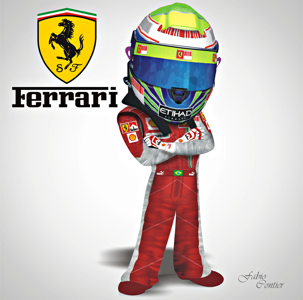 fsone 2008 Фелипе Масса Ferrari