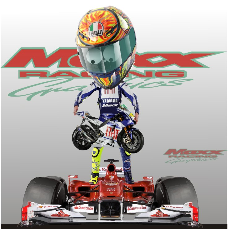 Валентино Росси Ferrari