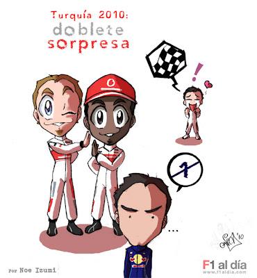 Гран-при Турции 2010 - дуль McLaren и первые очки Кобаяши