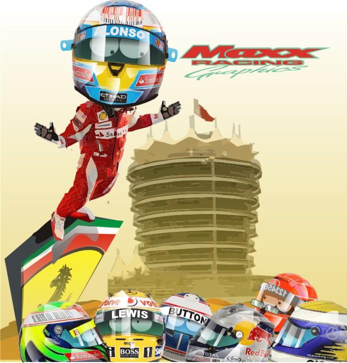 победа Фернандо Алонсо на Гран-при Бахрейна 2010