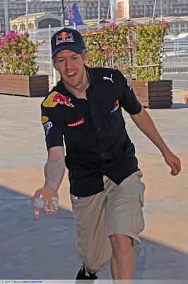 Себастьян Феттель на Гран-при Европы 2010