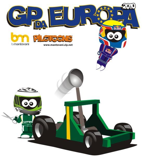 pilotoons Гран-при Европы 2010