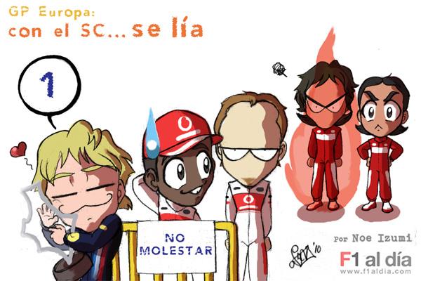 итоги Гран-при Европы 2010