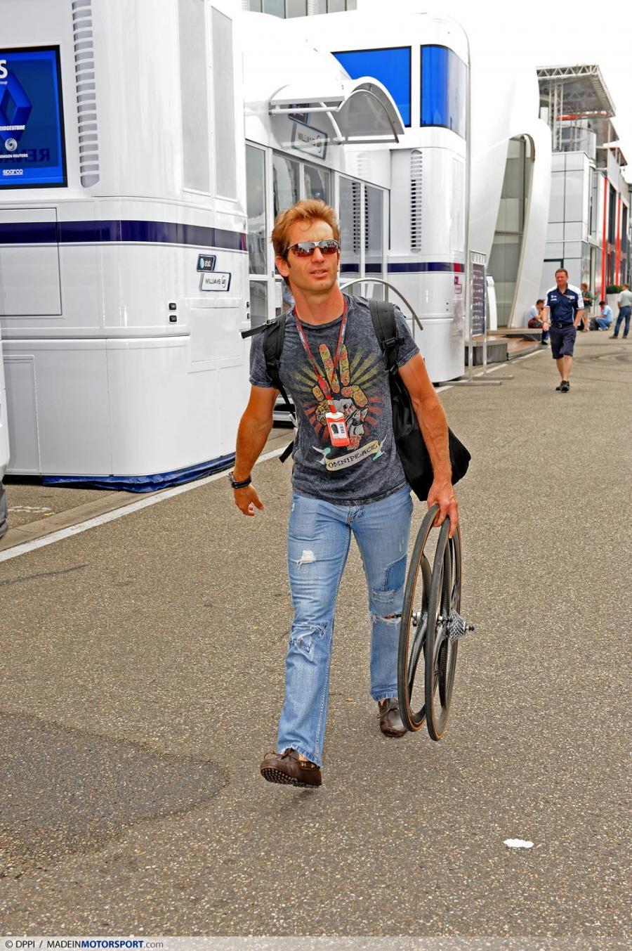 Ярно Трулли на Гран-при Германии 2010