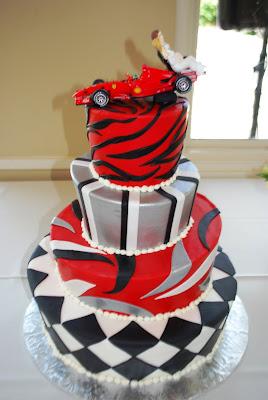 свадебный торт Ferrari