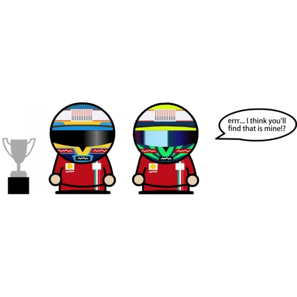 Фелипе Масса и Фернандо Алонсо обсуждают Гран-при Германии 2010