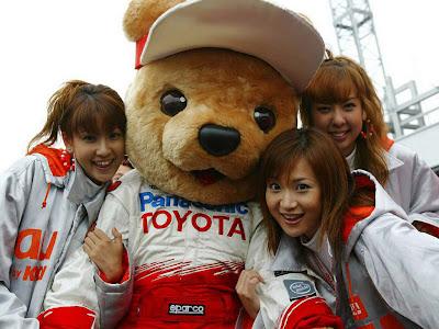 мишка Toyota