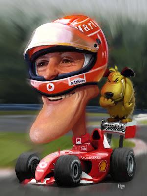 Михаэль Шумахер Ferrari Tiago Hoise