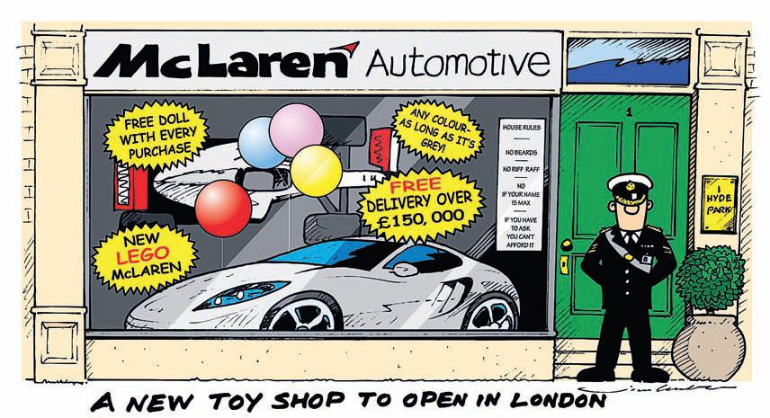 В Лондоне открылся новый магазин игрушек