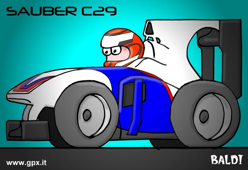 болид 2010 Sauber C29