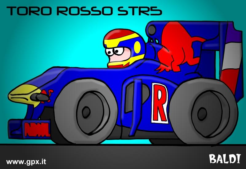 болид 2010 Toro Rosso STR5