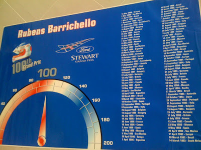 Рубенс Баррикелло 100 Гран-при Stewart