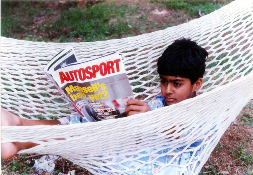 Карун Чандхок читает Autosport